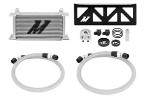 MISHIMOTO Oil Cooler Kit Silver for 13-16 Subaru BRZ/Scion FR-S/Toyota GT86