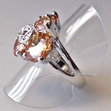 Markenlose Ringe ohne Stein mit echten Edelsteinen 58 (18,4 mm Ø)