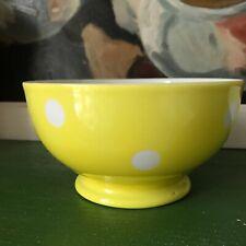 Schale alt antik 50er Punkte old ancient french bowl Longchamp  Bol ancien 50s