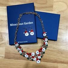 M MIRACULOUS GARDEN Christmas Jewelry Sets for Women Girls Christmas Santa