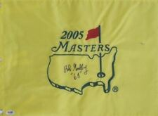 Bob Goalby Signed 68 Champ Masters Flag Autographed PSA