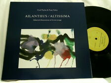 CECIL TAYLOR & TONY OXLEY Ailanthus / Altissima LIMITED 2 LP + book