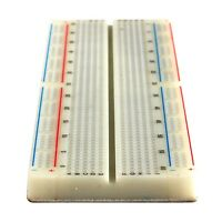 2x Solderless Breadboard MB-102 830 Tie Point; 830 Pin Bread Board Protoboard US