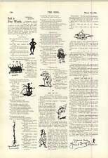 1900 Harry de Oom Paul sorpresa grandes dibujos animados
