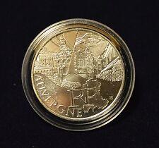FRANCE : 10 euros des régions argent Auvergne 2011.
