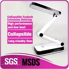90-240V Foldable White Light Desk Lamp Lash Extension Flexible Eyelash LED Light