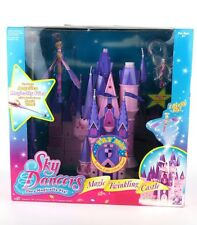 SKY DANCERS Magic Twinkling Castle Playset Magic Wand (2005) Rare/Brand New!!