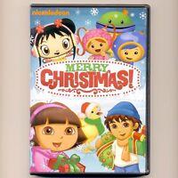 Merry Christmas Nickelodeon DVD Dora, Diego, Wonder Pets 2+ hours, preschool PBS