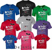 Family Vacation 2017 World All colors Mickey & Minnie T-Shirts 1T-5XL