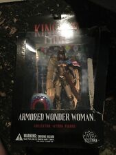DC DIRECT KINGDOM COME 6'' ARMORED WONDER WOMAN FIGURE