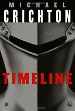 Timeline by Michael Crichton Hardcover Book w/ Dust Jacket Good Used Condition