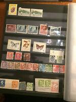 Timbres de collection Comores, Croatie, Bulgarie, Usa, Hongrie, Danemark, Finlan