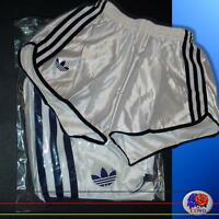 Neu adidas Retro Glanz Sporthose D3 / XS Nylon Sprinter Shorts .. Laufhose Pants