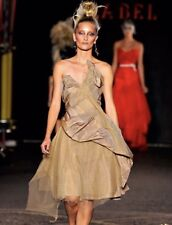 NWT! Vivienne Westwood Gold Label Runway Silk Gown Spring 2012 Archive