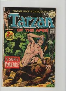 Tarzan #208 - A Son's Vengeance! - 1972 (Grade 8.0) WH