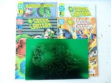 5 x Comic  - Green Lantern -  Nr. 1-4 + Nr. 1 Variantcover - DC Panini -Z.0-1/1