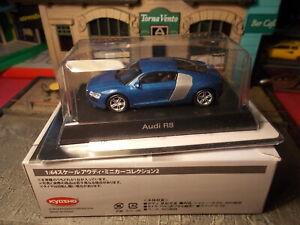 Kyosho Audi R8 1/64