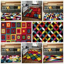 Modern Design Carpets Exciting Multi Colour Hallway Décor Rugs Runner Floor Mats
