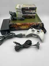 Xbox 360 Halo 3 Special Edition Console Gears Faceplate Bundle See Photos