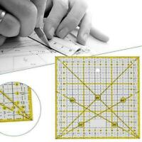 Transparent Quilting Sewing Patchwork Ruler Cutting Tools DIY Tailor Craft I7K0