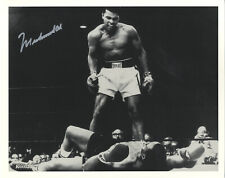 Muhammad Ali - American Heavyweight Boxing Legend Hand Signed B&W Photograph.