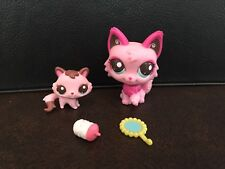LPS Littlest Pet Shop Grooming Time With Mommy Kitty Cats Cutest Pets #2664 2665