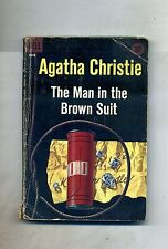 Agatha Christie # THE MAN IN THE BROWN SUIT # Dell Publishing 1958