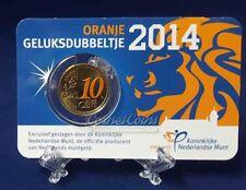 Nederland Coincard geluksdubbeltje 2014