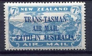 34365) NEW ZEALAND 1934 MH* Air Mail 1v Scott#C5 - VARIETY