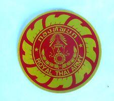 AUFKLEBER Sticker Thailand Royal Thai Army Armee Militär Marine 7 cm glitzernd