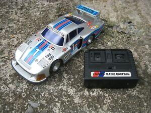 Rare Vintage Porsche 935 R/C Car Martini Racing