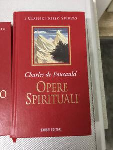 LIBRO OPERE SPIRITUALI CHARLES DE FOUCAULD I CLASSICI DELLO SPIRITO FABBRI