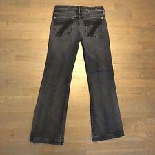 Seven For All Mankind Dojo Flare Stretch Denim Jeans Woman's 27