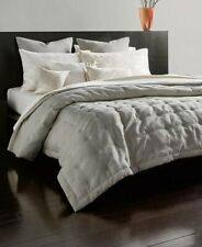 New DONNA KARAN Home Gray/Silver Radiance Quilt King Size