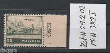 BC.876 - Switzerland, 1941, Zst # 29.2.02, Mi # 389 I