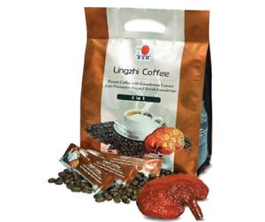 10 Packs DXN Lingzhi Coffee 3 in 1 Ganoderma Cafe Reishi Classic 20 Sticks x 21g