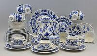 99840565 Porcellana Kaffee-Tee Servizio Blu Cipolla Schaller