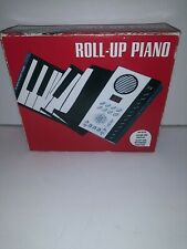 Electronic Roll-Up Piano 49 Key Recording & Playback Function TESTED All Working