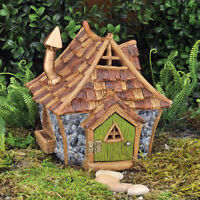 Shingletown Cottage Style Home Fiddlehead Fairy Garden House Miniature Accessory