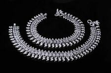 """Ethnic Antique 925 Sterling Silver Ankle chain Anklets for Women 10.5"""""""