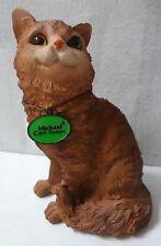 Michael Carr Design Cat Sitting Up Brown -28