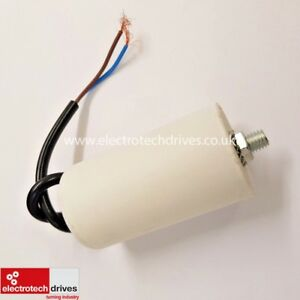 2 UF 450V ELECTRIC MOTOR RUN CAPACITOR WITH LEAD&BOLT