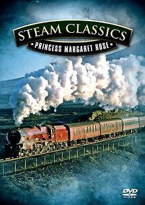 STEAM CLASSICS - PRINCESS MARGARET ROSE  DVD - FREE POST IN UK