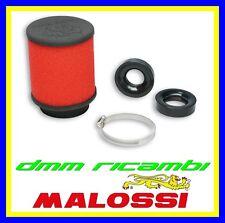 Filtro Aria MALOSSI E16 Ø58,5 dritto carburatori DELL'ORTO PHBG 15 21 PHBL 20 26
