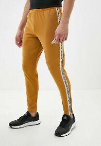 New Adidas TIRO 19 Training Pants Mesa Gold GH6627 Soccer Men's Medium