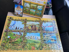 WADDINGTONS 1978 Vintage WATERSHIP DOWN 300 Piece JIGSAW,PUZZLE & FILM DVD