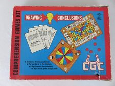 Vintage Learning Well Drawing Conclusions Comprehension Games Kit 1977