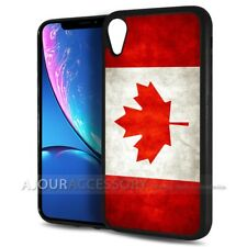 ( For iPhone XR ) Back Case Cover AJ10830 Canada Flag