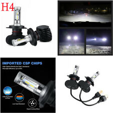 H4 9003 HB2 4000LM HI-LO Beam COB Car LED Headlight Bulbs Conversion Fog Lamp
