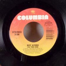 "Roy Ayers I'm The One / Marlon 7"" 45 Columbia soul funk r&b VG-"